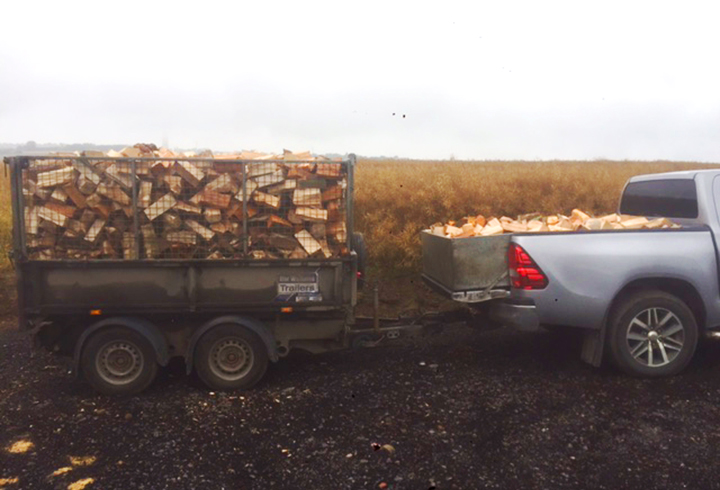 Firewood Logs from Flockton Hall Logs